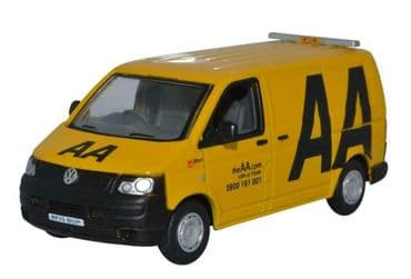 OXFORD DIECAST 76T5V005 1:76 OO SCALE VW T5 Van AA Livery